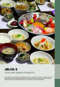 Jblog 1 Chapter 5: Food and Dining Etiquette