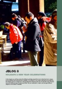 Jblog 1 Chapter 8: Holidays & New Year Celebrations