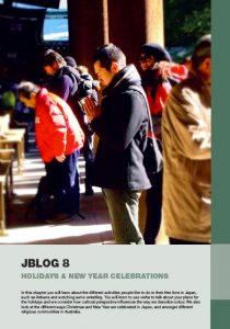 Jblog 1 Chapter 8: Holidays & New Year Celebrations