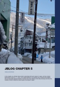 Jblog 2 Chapter 5: Seasons