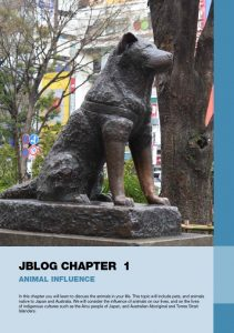 Jblog 3 Chapter 1: Animal Influence